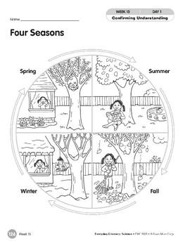 Week 15: Four Seasons (Everyday Literacy, Science)