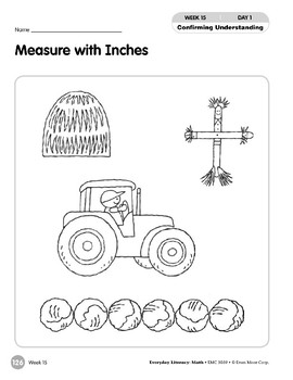Week 15: Measure with Inches (Everyday Literacy, Math)