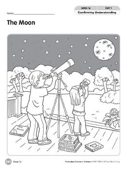 Week 16: The Moon (Everyday Literacy, Science)