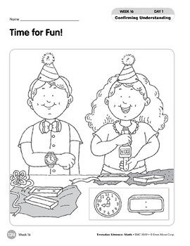 Week 16: Time for Fun! (Everyday Literacy, Math)