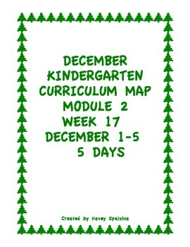 Week 17 Kindergarten Curriculum Aligned to Common Core Standards