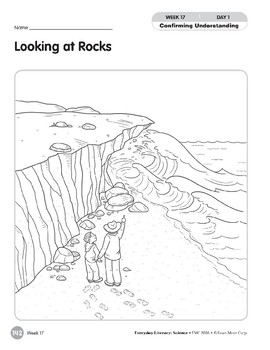 Week 17: Looking at Rocks (Everyday Literacy, Science)