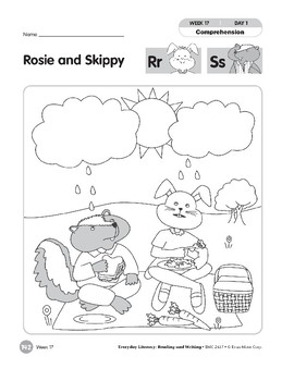 Week 17: Rosie and Skippy--Rr,Ss (Everyday Literacy, Reading & Writing)