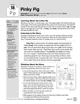 Week 18: Initial & Final Pp (Everyday Literacy, Reading & Writing)