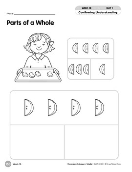 Week 18: Parts of a Whole (Everyday Literacy, Math)