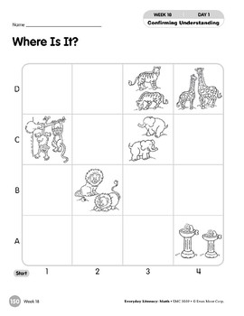 Week 18: Where Is It? (Everyday Literacy, Math)