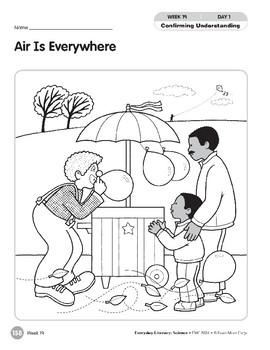 Week 19: Air Is Everywhere (Everyday Literacy, Science)