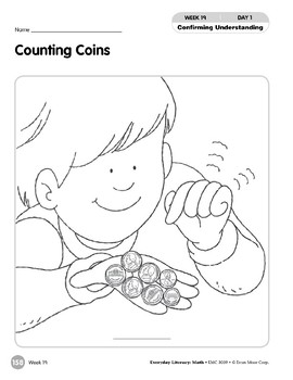Week 19: Counting Coins (Everyday Literacy, Math)