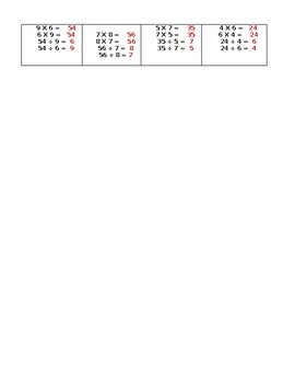 Week 2 Math Homework or Class Starter