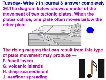 Week 2 Plate Tectonics