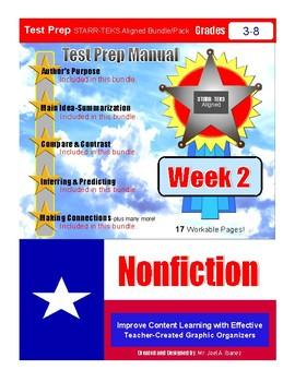 Week 2 STAAR Test Prep Nonfiction Bundle/Pack