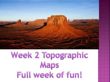 Week 2 Topographic maps