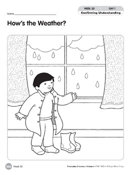 Week 20: How's the Weather? (Everyday Literacy, Science)