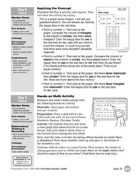 Week 20: Make a Graph (Everyday Literacy, Math)