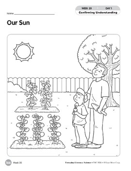 Week 20: Our Sun (Everyday Literacy, Science)