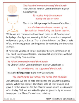 Week 20, St Joseph Baltimore Catechism I, Lesson Plans, Worksheets, Answer Key