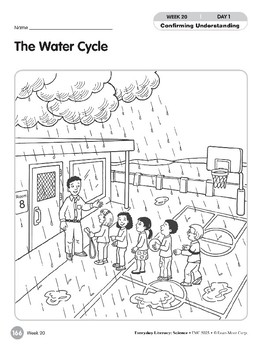 Week 20: The Water Cycle (Everyday Literacy, Science)