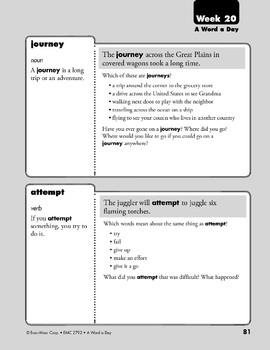 Week 20: villain, dependable, journey, attempt (A Word a Day)