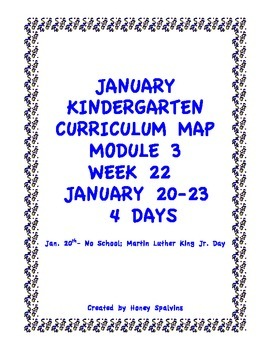 Week 22 Kindergarten Curriculum Aligned to Common Core Standards