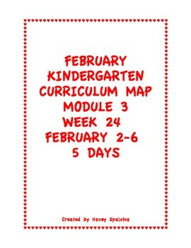 Week 24 Kindergarten Curriculum Aligned to Common Core Standards