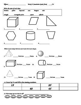 Week 25 Math Quick Check