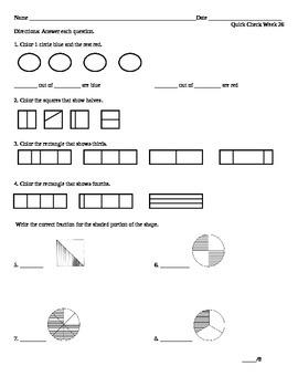 Week 26 Math Quick Check