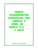 Week 28 Kindergarten Curriculum Aligned to Common Core Standards