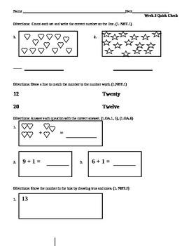 Week 3 Math Quick Check