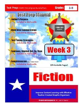 Week 3 STAAR Test Prep Fiction Bundle/Pack