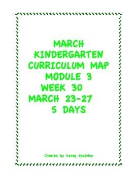 Week 30 Kindergarten Curriculum Aligned to Common Core Standards