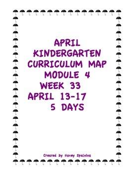 Week 33 Kindergarten Curriculum Aligned to Common Core Standards
