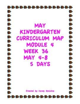 Week 36 Kindergarten Curriculum Aligned to Common Core Standards
