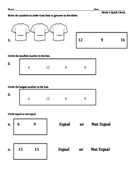 Week 4 Math quick check