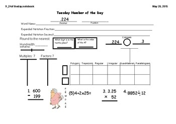 Week 4 Texas TEKS Spiral Review 5th Grade