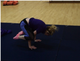 Gymnastics Balances Tutorial Video