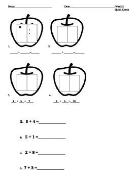 Week 5 Math Quick Check