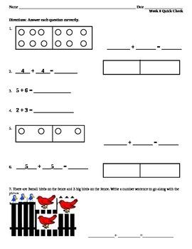 Week 8 Math Quick Check