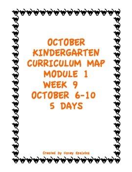 Week 9 Kindergarten Curriculum Aligned to Common Core Standards