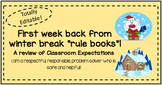 Week After Winter Break Expectations Review - Elementary