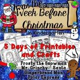 Week Before Christmas Activities