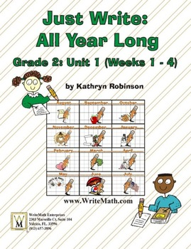 Daily 2nd Grade Writing Lessons, Activities, Grammar - Unit 1 - {CCSS Aligned}