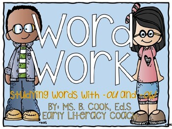 Week-Long Word Work (-Ou and -Ow)