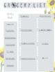 Week & Month at a Glance Planner Printables