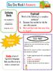 Week One-Daily English--Bell Ringer--Morning Work