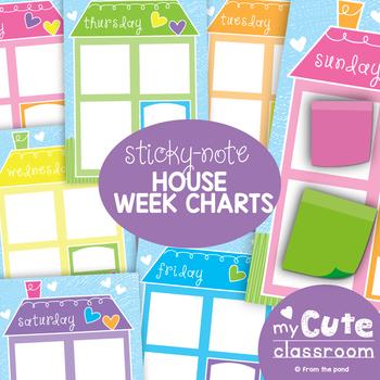 Week Poster Display - To Do List, Calendar, Schedule