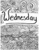 Week Zentangle Organization