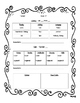 Week at a Glance Lesson Planner