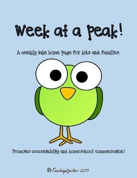 Week at a Peek
