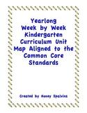 Week by Week Kindergarten Curriculum Map Aligned to the Co