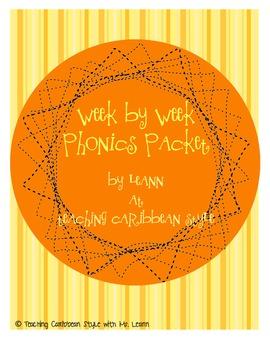 Week by Week Phonics Packet